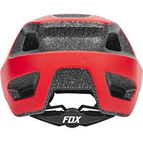 Fox Ranger Kask czerwony/czarny